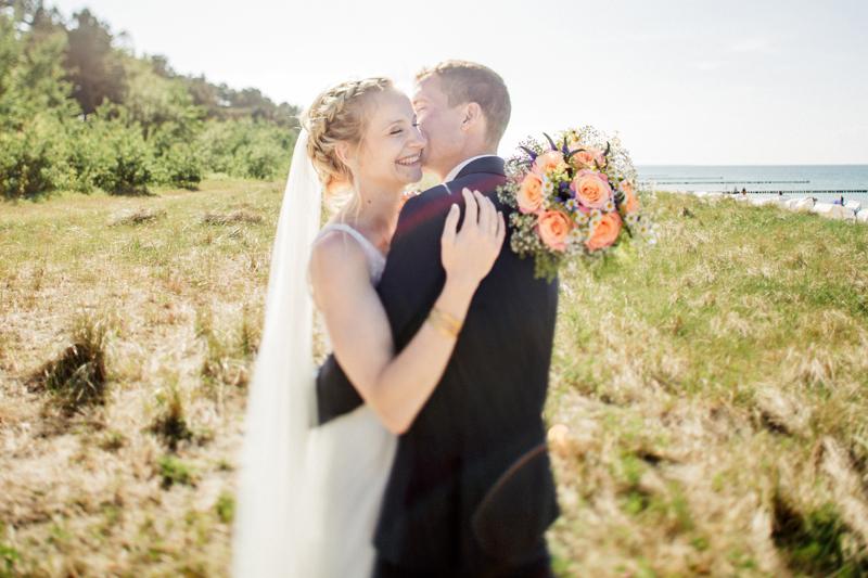 anke schmidt, photogenio, Zingst, Hochzeit, Hochzeitsbilder, Hochzeitsfotos, Brautpaar, Hochzeitsreportage